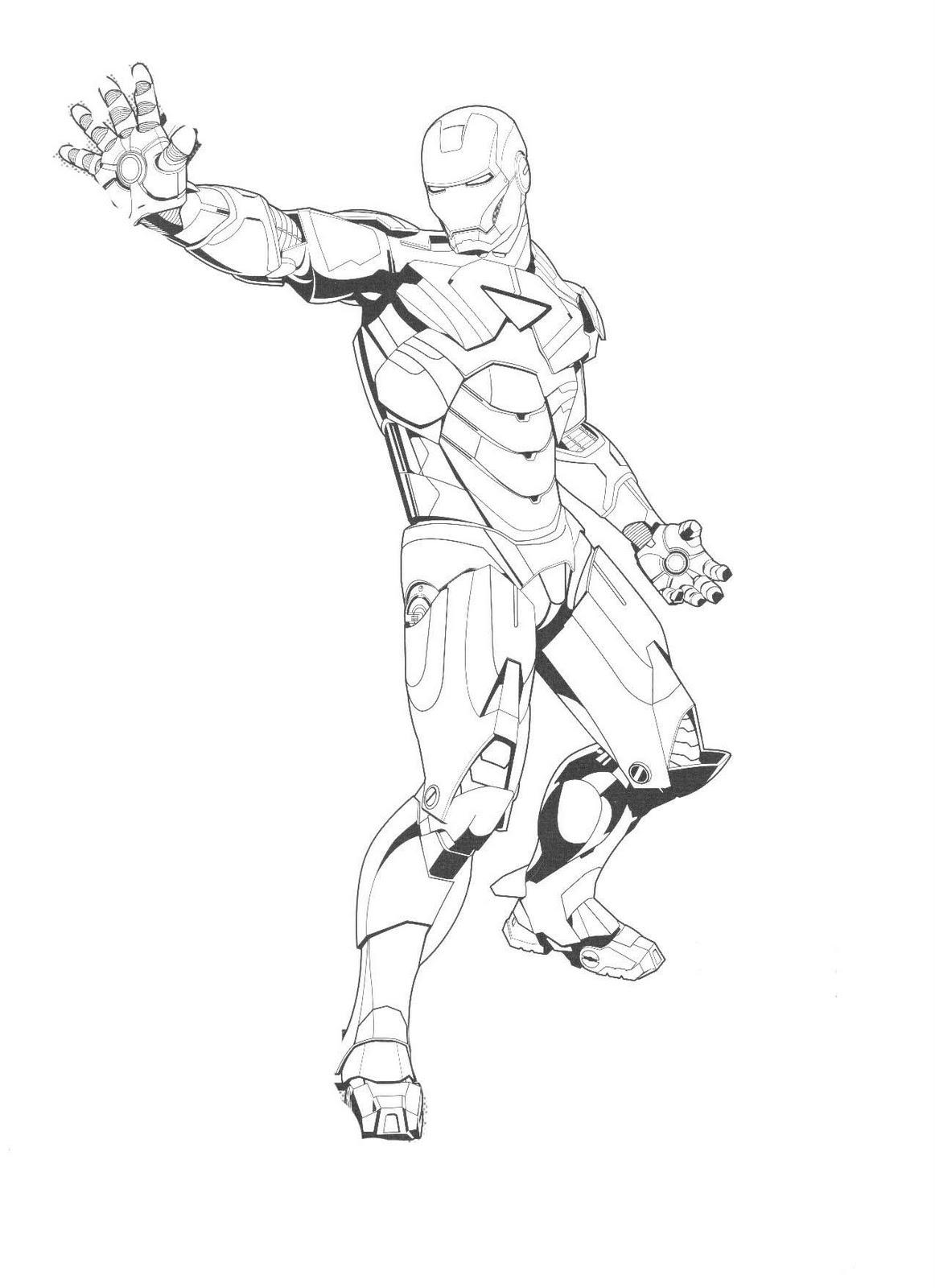 Desenhos do Homem de Ferro para