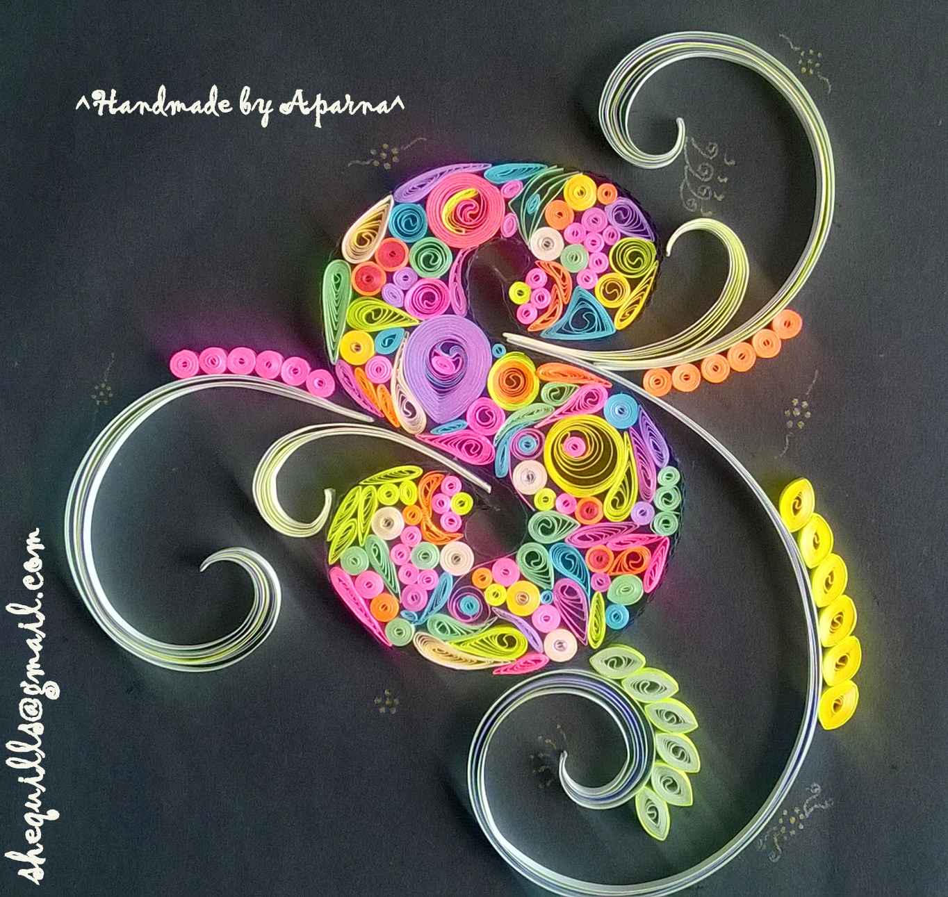 Shequills Quilled S For Indian Quilling Challenge