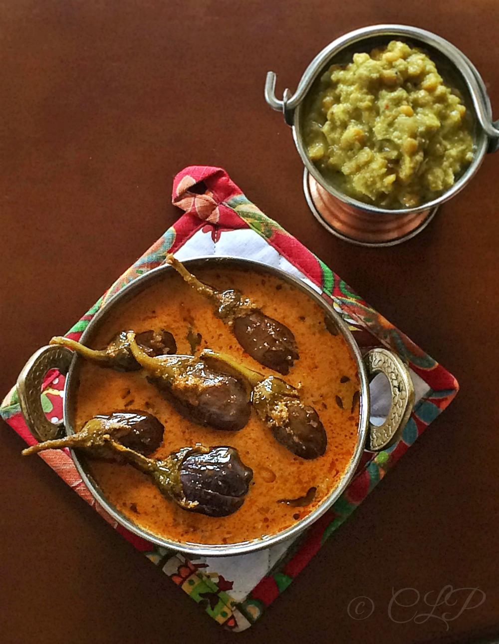 Brinjal Spicy Tangy Coconut Curry