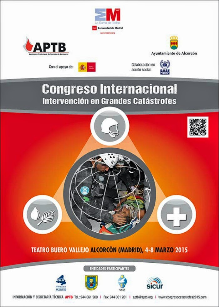 #CONGRESO #INTERNACIONAL: INTERVENCIÓN EN GRANDES #CATÁSTROFES