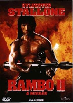 Filme Rambo 2 A Missão Dublado AVI DVDRip