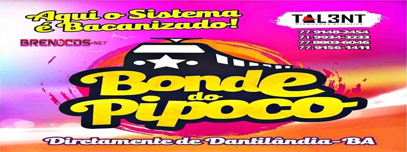 BONDE DO PIPOCO CD 2015
