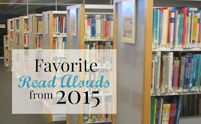 Favorite Read Alouds from 2015
