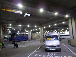 Friday(11-9-2015) :- The Mini van  from Krakow to Wadowice.