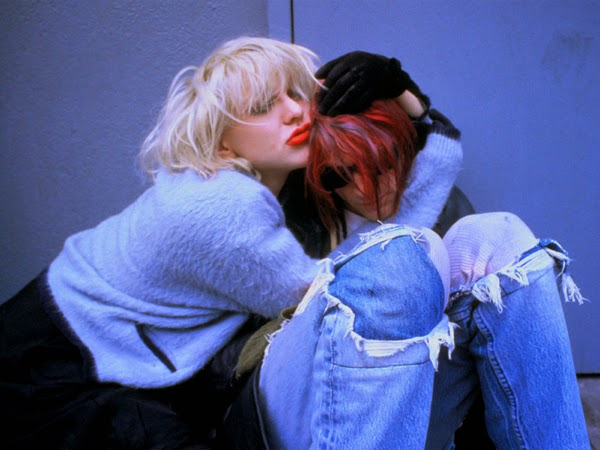 Courtney Love Kurt Cobain 1992 1993