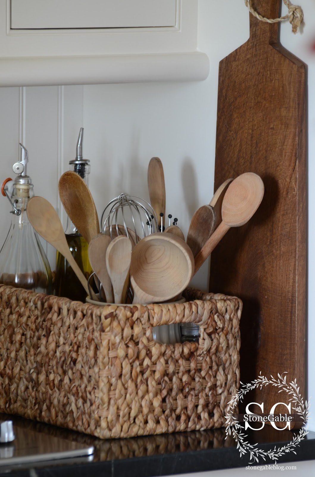 Kitchen Organization Ideas Basket