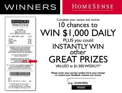 Winners-opinion.ca: Be Winner of $1,000 or iPod Daily