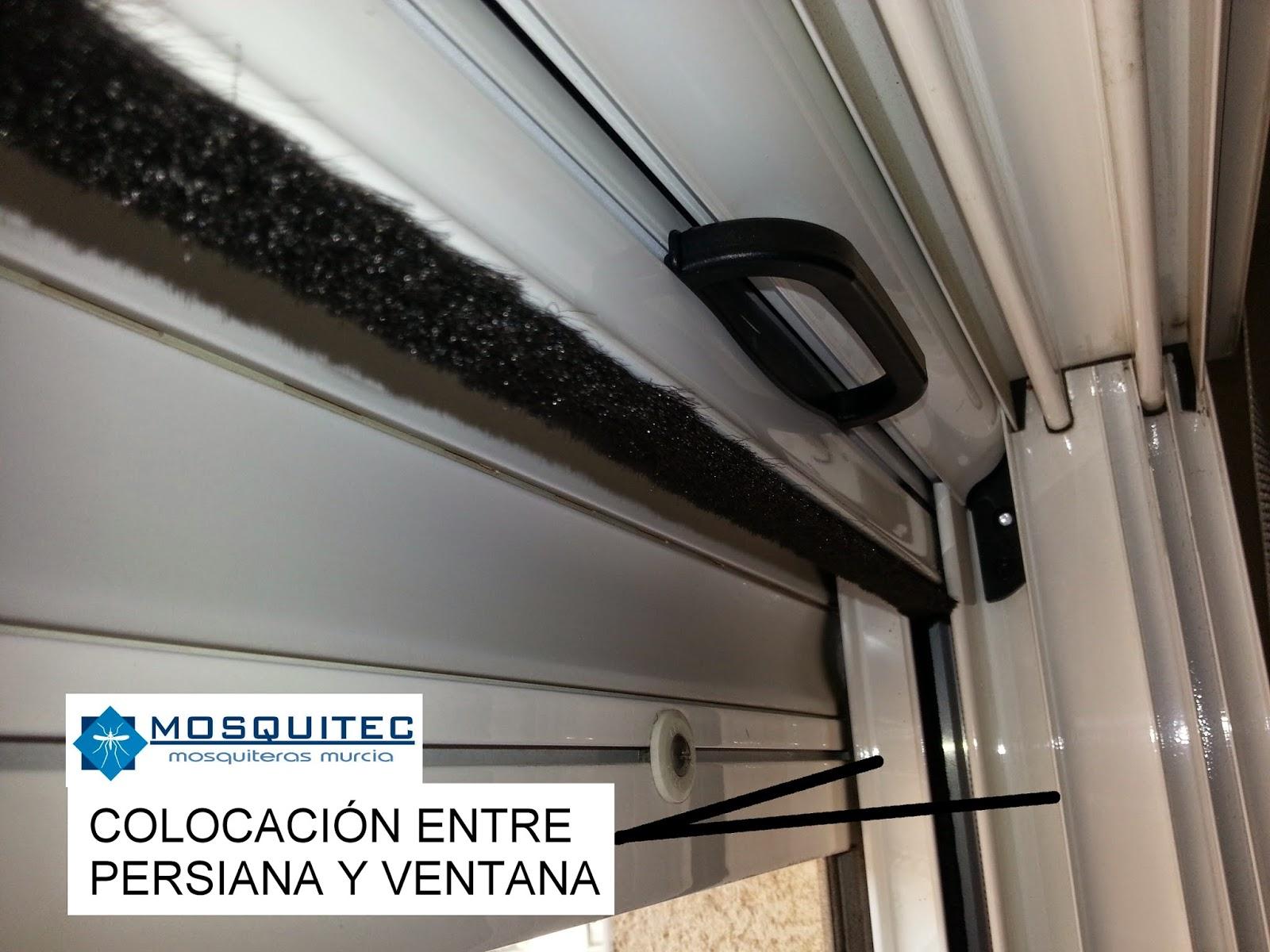 Mosquitera enrollable en ventanas con fijo mosquiteras - Colocar persiana enrollable ...