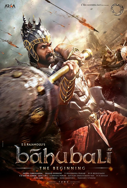 Rana Daggubati as Bhalladeva in Baahubali Posters | Rajamouli