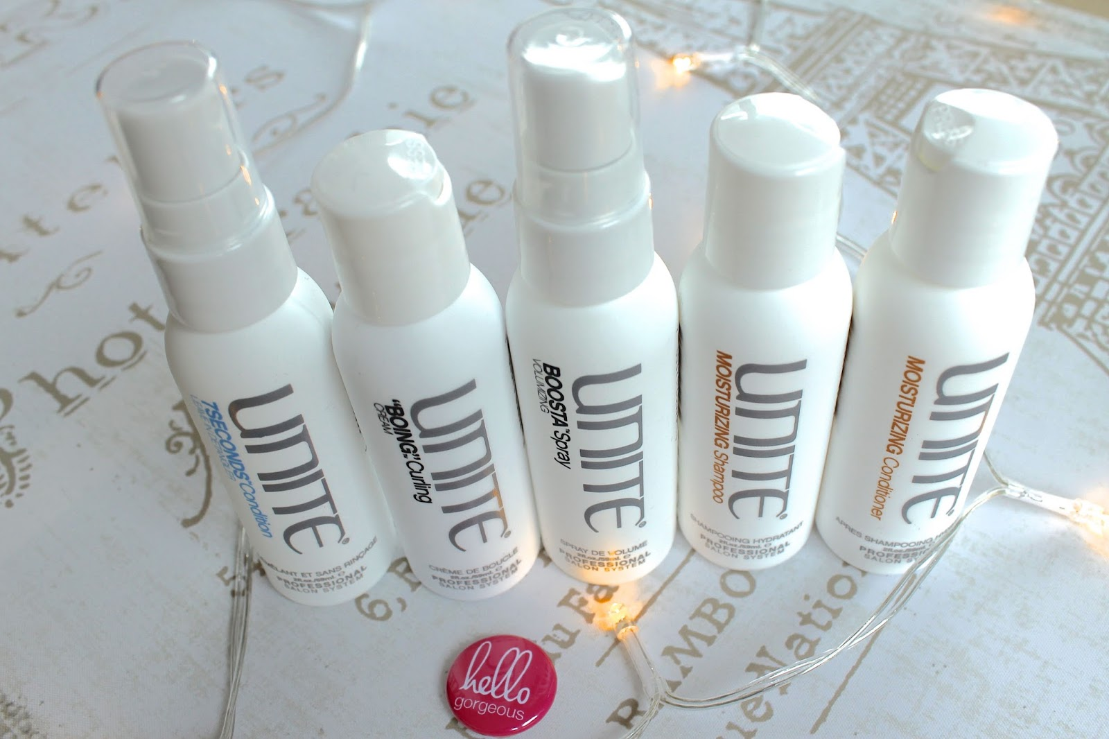 Unite hair products blog review