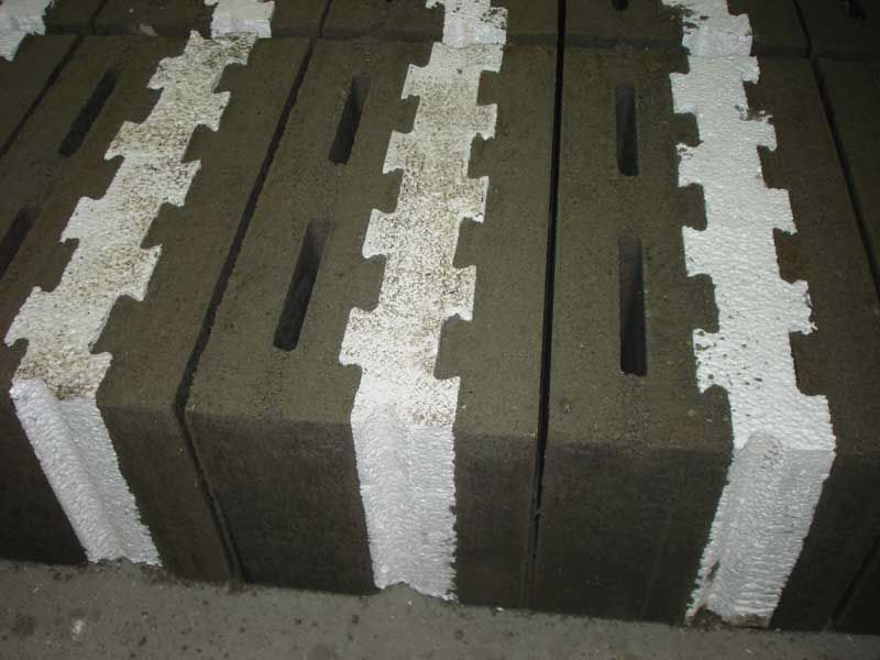Concrete block machines bloques eps aislantes - Precio bloque de hormigon bricodepot ...