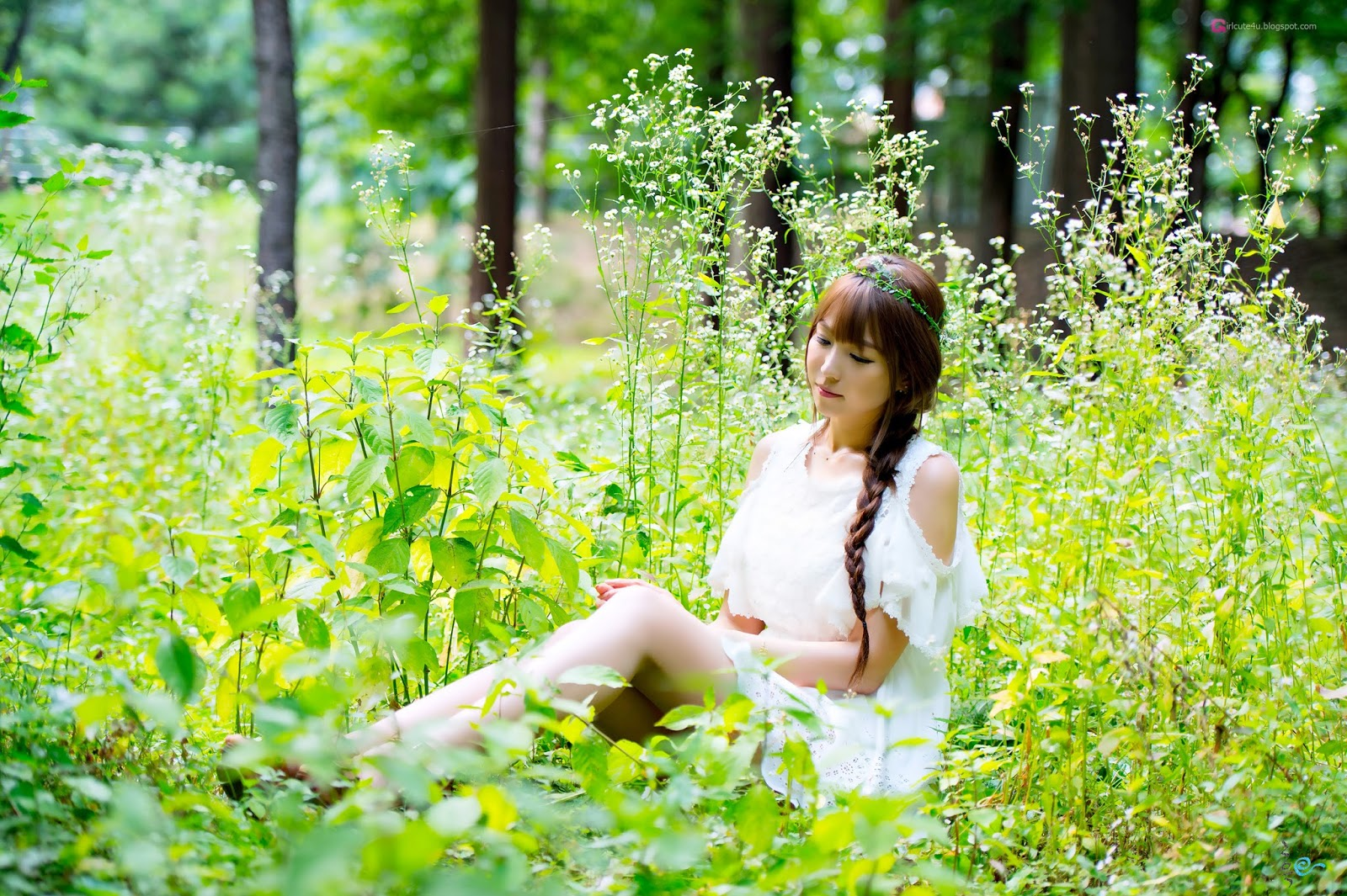 4 Lovely Lee Eun Hye In Outdoor Photo Shoot - very cute asian girl-girlcute4u.blogspot.com
