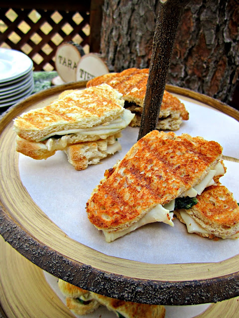 Fizzy Party Big Foot Cocktail sandwiches
