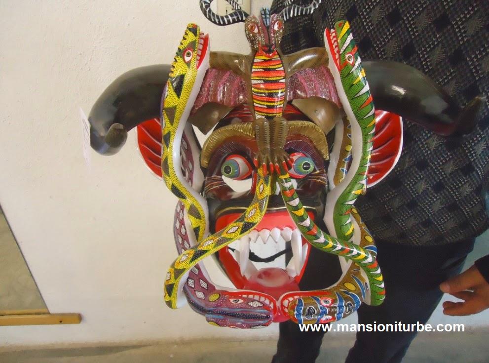 Tocuaro Masks