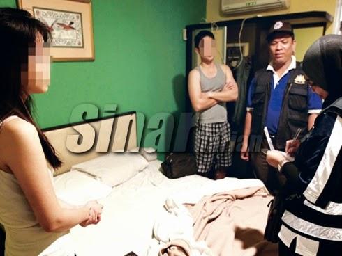 HARI MALAYSIA DICEMARI DENGAN BERKHALWAT DI HOTEL BAJET