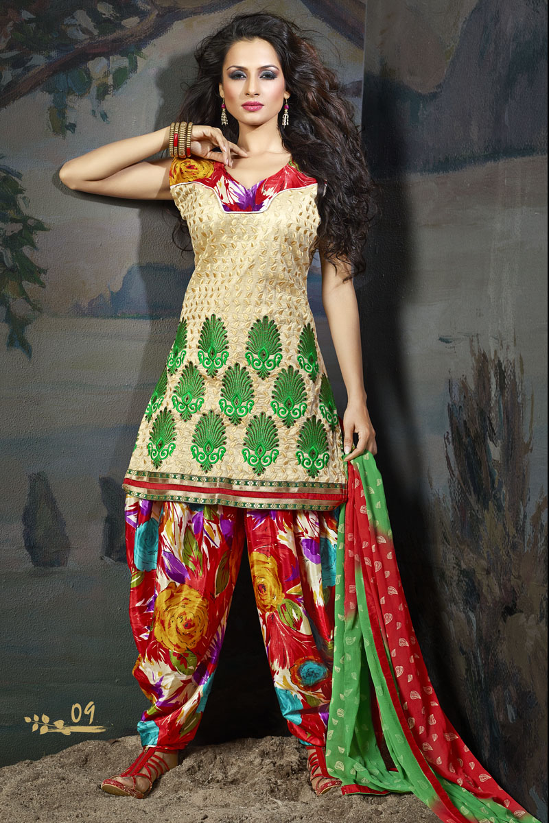 ladies embroidered salwar kameez indian designer suits