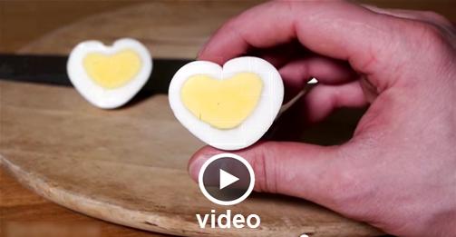 Αυγά Αλά Αγίου Βαλεντίνου