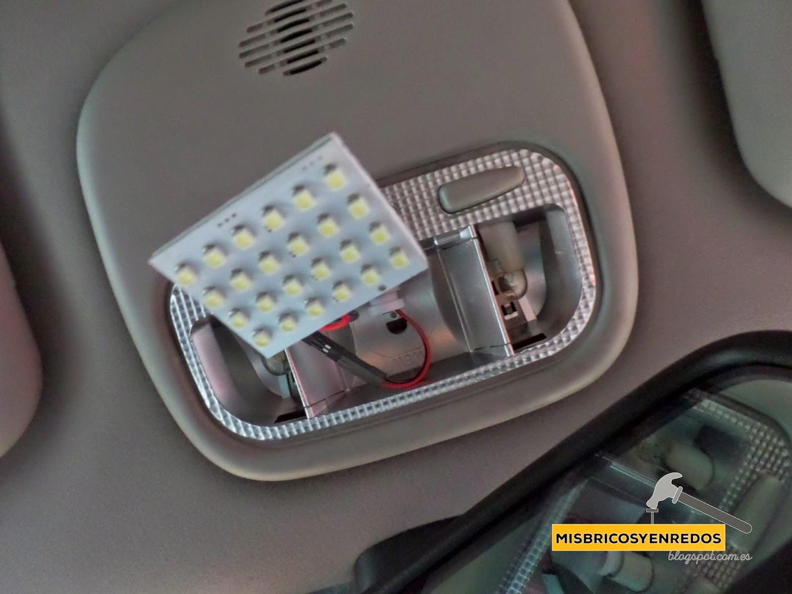Mis enredos pensamientos y actividades instalaci n de luz interior led en citro n c5 i - Poner luz interior coche ...