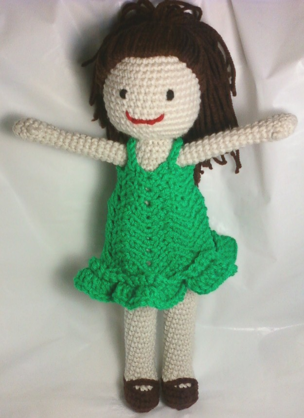 Crocheting Dolls : Karis Crafts: Amigurumi Crochet Doll