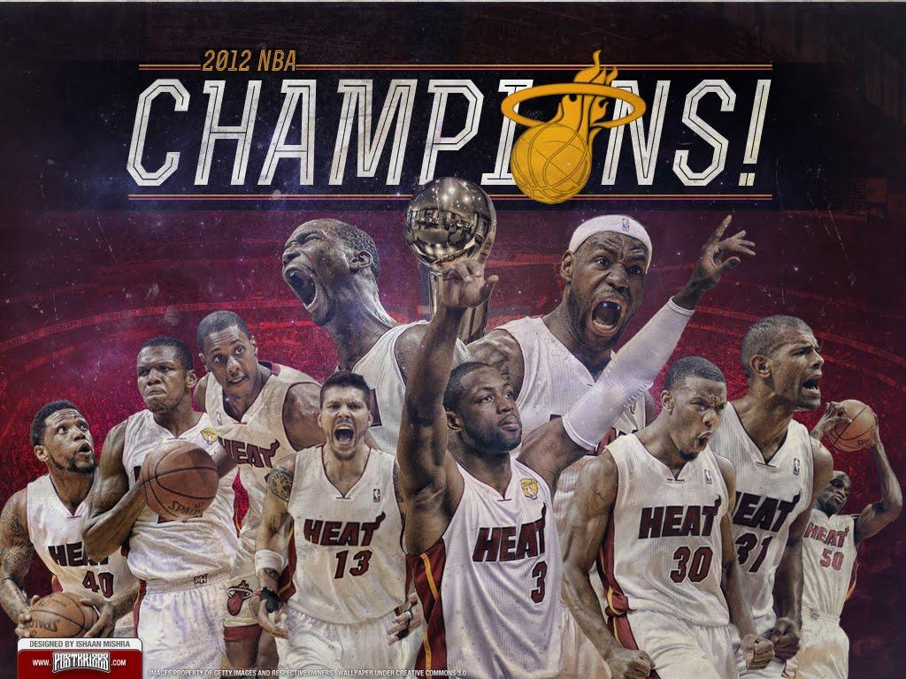 Miami heat roster nba - Congratulations Miami Heat Nba Finals Champions 2012