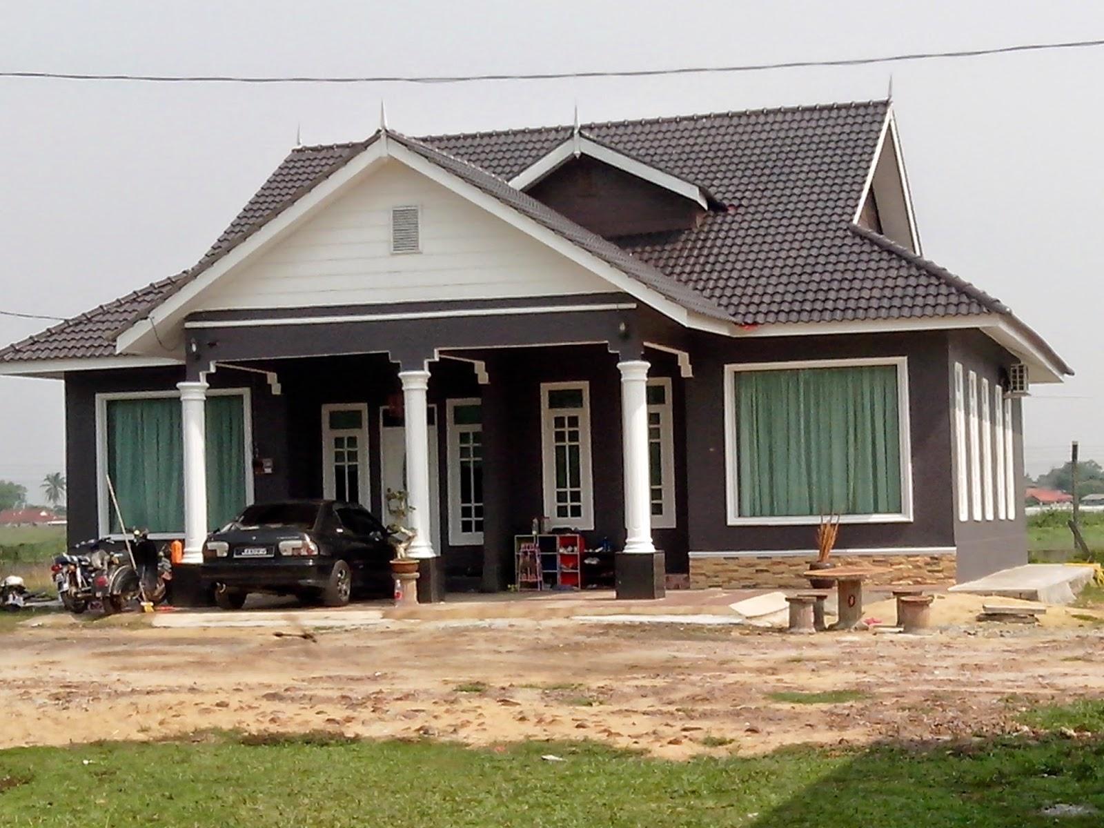 Langsir ruang tamu rumah kampung hairstyle gallery for Design homestay
