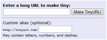 TinyURL.com - shorten that long URL into a tiny URL