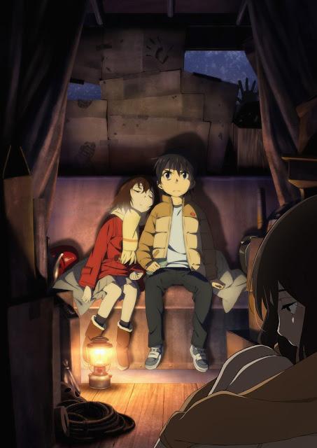 Lagu Pembuka Anime 'Boku Dake ga Inai Machi' Diungkap Di Video Promosi Kedua