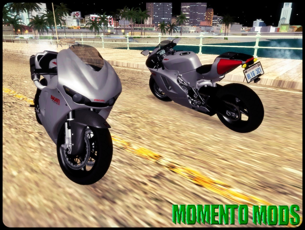 GTA SA - Ducati Desmosedici RR 2012 + ImVehFt