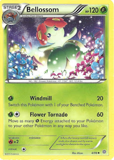 Bellossom Ancient Origins Pokemon Card