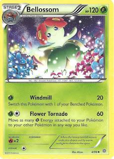 Bellossom Ancient Origins Pokemon Card