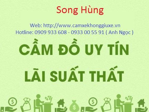 Cầm xe uy tín Song Hùng