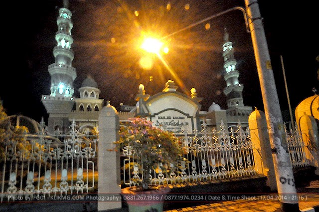 Photographer Indonesia : Masjid Agung Daarussalam Purbalingga - Foto oleh : Klikmg Photography - Photographer Indonesia / Photographer Banyumas / Photographer Purwokerto