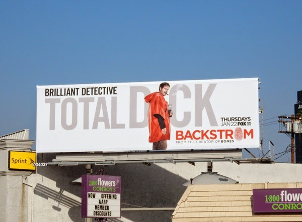 Backstrom series premiere billboard