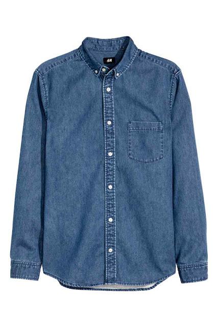 h&m david beckham chemise jeans