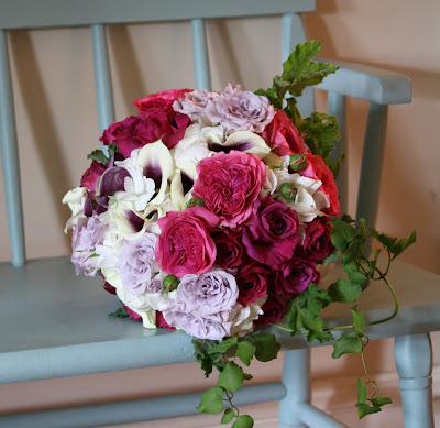 Splendid Stems Event Florals - Bride's Bouquet with ivy
