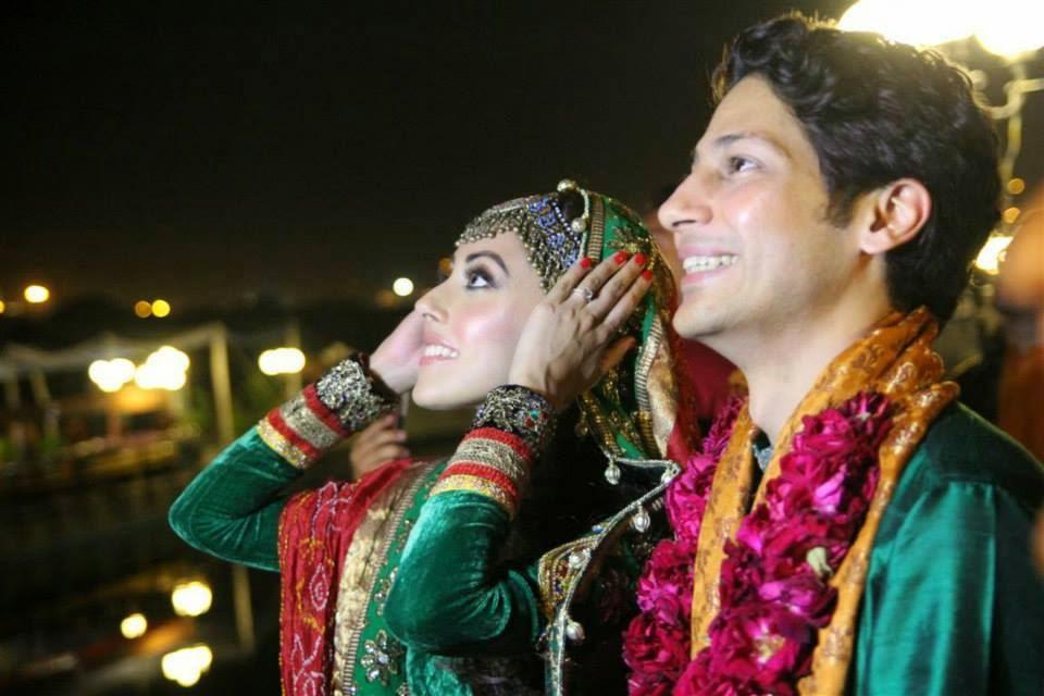 Ainy Jaffri Wedding  pics