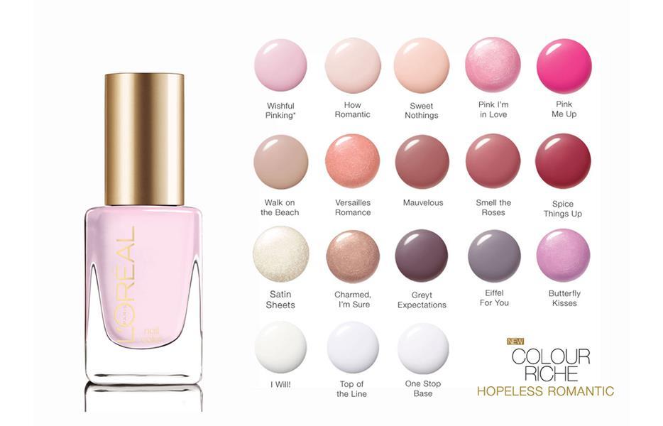 beauty basics 101  l u0026 39 oreal colour riche nail
