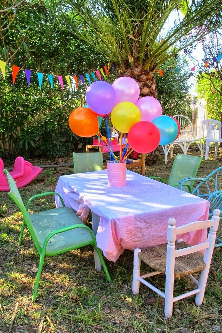 Le petit panier co 7 formas diferentes de celebrar un - Fiesta cumpleanos infantil en casa ...