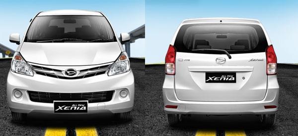 Spesifikasi Daihatsu Xenia Std Astra