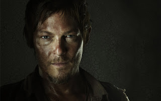 Daryl Dixon Face HD Wallpaper