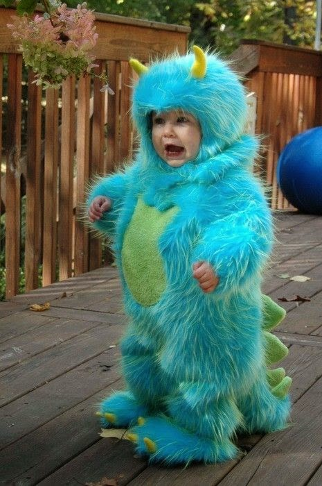 DIY Little Monster Halloween Costume