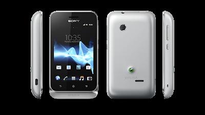 Sony Xperia tipo dual Classic silver
