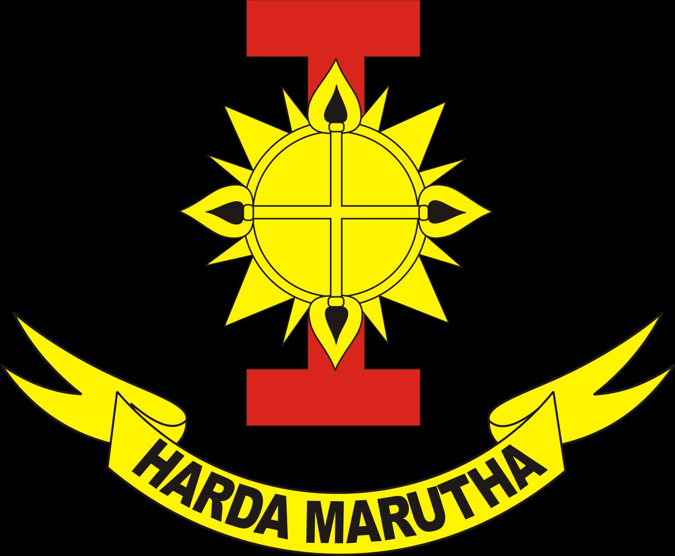 logo wing i pasukan khas angkatan udara paskhas au