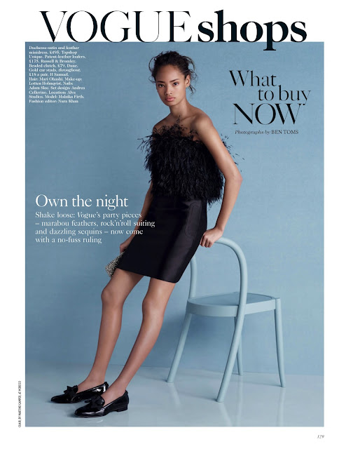 Fashion Model @ Malaika Firth - Vogue UK, December 2015