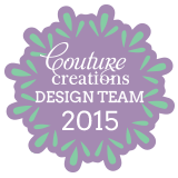 Previously ON THE DESIGN TEAM FOR COUTURE CREATIONS
