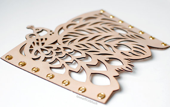 loveatfirstblush peacock cuff