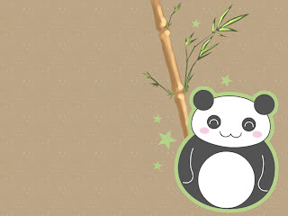 Wallpaper Panda Lucu