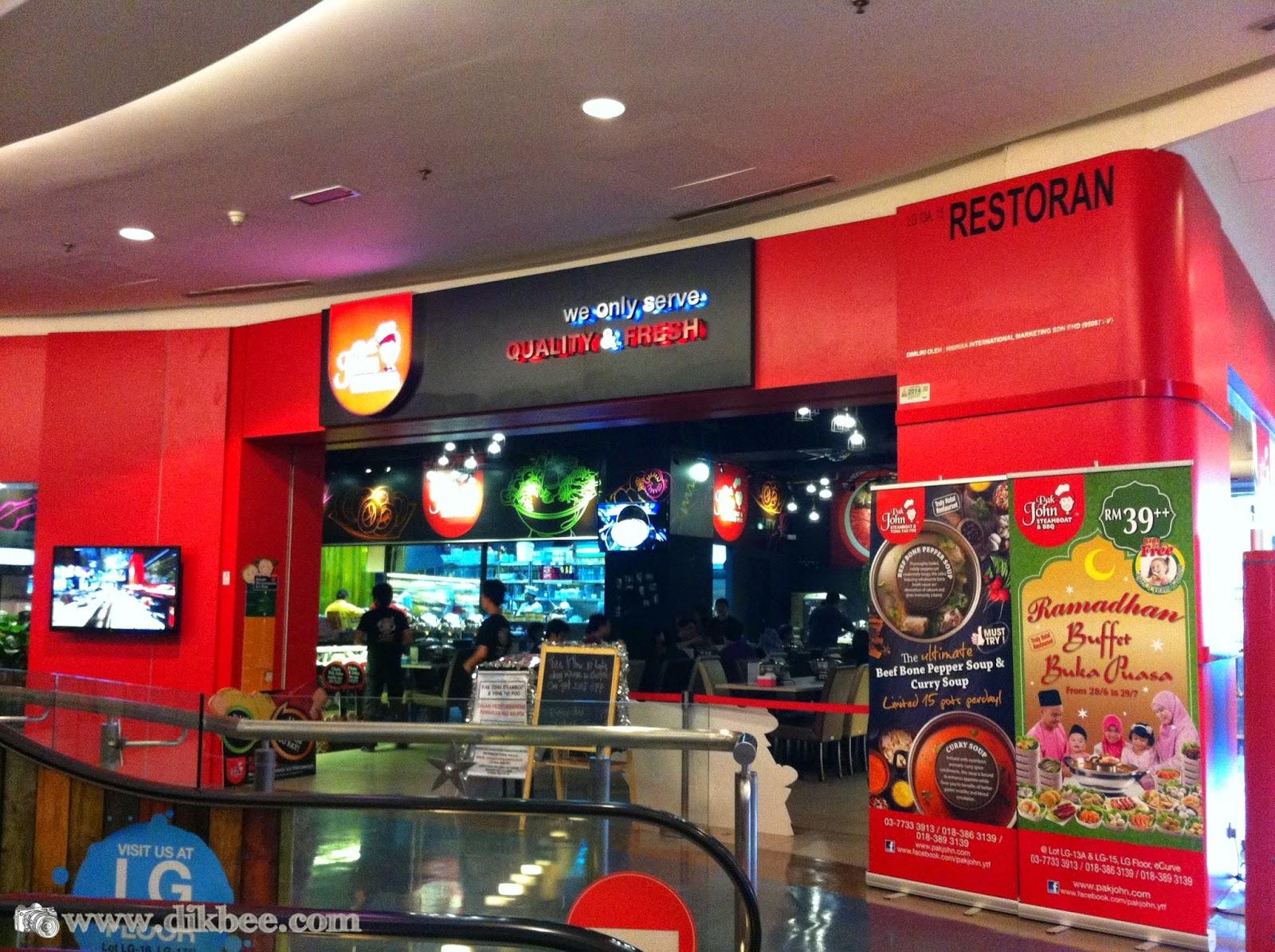 Pak John Steamboat & Yong Tao Foo | Promosi Buffet Ramadhan 2014