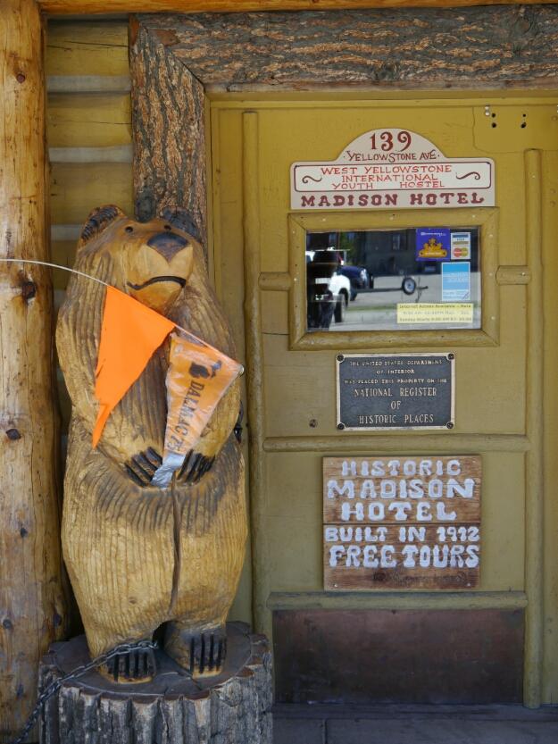 Madison Hotel door