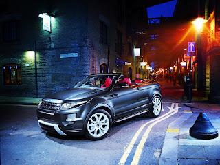 Range Rover Evoque Roadster Concept